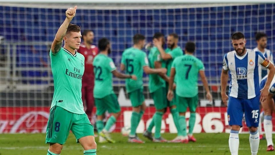 ريال مدريد يهزم إسبانيول بصعوبة.. ويبتعد بالصدارة   شبكة العين اونلاين